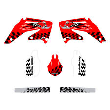Honda CRF450 2002-2004 Woody graphics kit red highlight FREE SHIPPING!!!