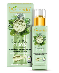 Bielenda Botanical Green Clay Booster Serum Deep Moisturizing Oily Skin 30ml