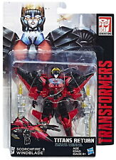 Transformers Generations Titans Return Deluxe Windblade & Scorchfire Wave 5