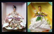 Antique Rose & Lily Barbie Doll FAO Schwarz Floral Signature Lot 2