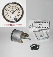 Smart Small Analogue MAGNOLIA Classic Clock for Wolseley Cars 1950-70s