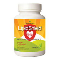 New Health LipidShield Plus w/Red Yeast Rice, Cholesterol Alternative (60 Caps)