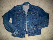 Vintage Wrangler Blue Denim Jean Jacket 1950's Rockabilly - Size 36