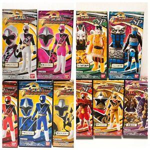 Power Rangers Ninja Steel Soft Vinyl Hero Ninninger Complete 10 set Bandai NEW