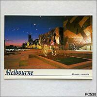 Melbourne Victoria Federation Square Bartel Postcard (P538)