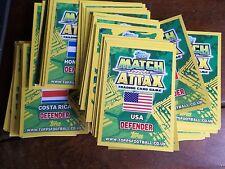 COPPA del Mondo di Calcio 2014 TOPPS MATCH ATTAX carte 50 diverse