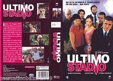 ULTIMO STADIO (2002) VHS ORIGINALE 1ª EDIZIONE