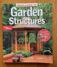Better Homes and Gardens: Ideas and How-to Garden Structures Paperback