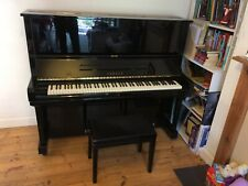 More details for yamaha u3 upright piano, polished ebony, very good condition, includes stool