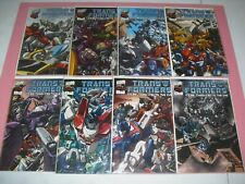 Transformers More than Meets the Eye 1-8 all VF/NM DW complete set run 2003 1727