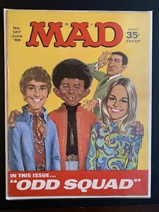 MAD Magazine number 127 June '69 Fine -