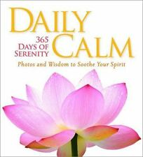 Daily Calm: 365 Days of Serenity (National Geographic 365 Days)  VeryGood
