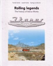Book - Ikarus Buses - Rolling Legends - English Text - History of Ikarus Works