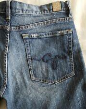 Women's GUESS Denim Blue Jeans Size 30 x 32 - EUC!