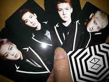 EXO PHOTO CARD ((30)) - LOST PLANET CONCERT BROCHURE [A] - monster lucky lotto