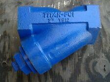 "NEW 2"" FNPT TITAN STRAINER TRAP FCI 2""  YS12 - CL-A126  250 SWP CAST IRON"