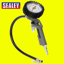 Sealey Car/Van Air Line Tyre Inflator With Gauge 0-175psi Compressor Use - SA302