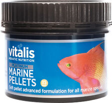New Era Vitalis PLATINUM Marine Pellets XS 60g Fish Food 1mm Pellets Reef Tank