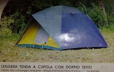 TENDA DA CAMPEGGIO ALTA, ROVER 4, 4 POSTI, SIA SPIAGGIA CHE MONTAGNA 240X240X180