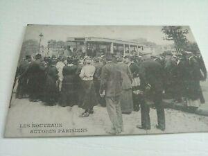1 Carte Postale d'autrefois : nouveaux autobus parisien /  1890 1920 / Atlas