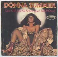 VINILE 45 giri - DONNA SUMMER - Can't we just sit down (and talk it over)