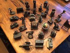Huge Lot Vintage Antique Collectable Metal Die Cast Pencil Sharpeners 29 Total