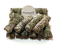 "NessaStores CA White Sage + Cedar Smudge Incense 4"" Bundle (12 pcs) #JC-166"