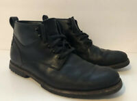 Timberland Black Leather Lace Up Mens Boots Kendrick Chukkas A1R34 Men's 8.5