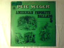 PETE SEEGER American favorite ballads 5 lp ITALY