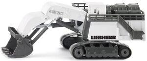 Pelle mécanique de mine LIEBHERR 9800 blanche,SIK1798, échelle1/87,SIKU
