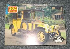 Vintage Philmar Children's Jigsaw Puzzle 1960s? 104 Pieces Complete Vintage Car