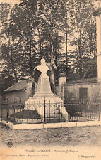 BRAZY-EN-PLAINE monument J. Magnin sculpteur gasq éd balme-droin timbrée