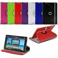 "Universal Case For Samsung Galaxy Tab A A6 7"" 8"" 10.1"" Tablet Leather Cover UK"