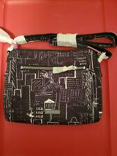 vera bradley Midtown Crossbody Bag City Sketch Nwt