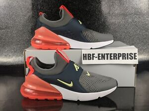 Nike Air Max 270 Extreme Casual Shoes  Red Gray White Size 5.5Y Women's 7 NEW