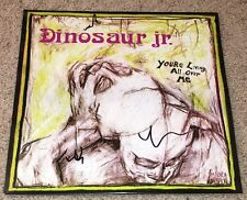DINOSAUR JR. SIGNED AUTOGRAPH YOU'RE LIVING ALL OVER ME VINYL ALBUM wEXACT PROOF