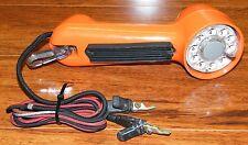 Vintage Bell System Western Electric Orange Rotary Lineman Test Phone / Tester