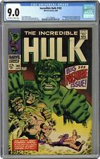 Incredible Hulk #102 CGC 9.0 1968 2111182003