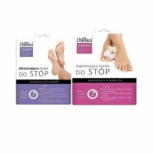 L'biotica Foot Mask - Exfoliating (40ml x 1) and Regenerating (32ml x 1)
