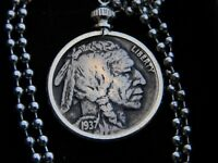 Buffalo Indian Nickel coin various date necklace nice gift motorcycle biker