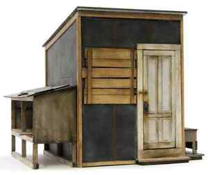 F/G scale  BANTA MODEL WORKS #8144 Lineside Tool Shed