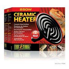 Exo Terra Reptile Habitat Terrarium Ceramic Heater Sun Like Heat Emitter 250 W