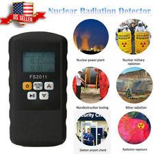 Geiger Counter Nuclear Radiation Detector Beta Gamma X Ray Dosimeter Monitor Us