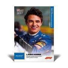 🏎 🏁 Lando Norris - Formula 1 - F1 TOPPS NOW Card # 5 - Chrome - Dynasty