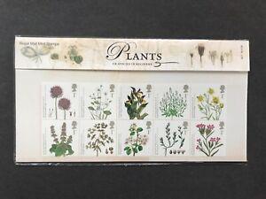 GB 2009 Plants & Kew Gardens Stamp Presentation Pack 427 + M/S Mint MNH