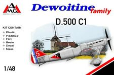 AMG 1/48 Dewoitine D.500 limited edition plastic kit