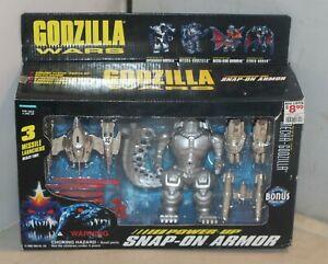 Godzilla Wars Mecha Godzilla Power Up Snap On Armor Action Figure 1995 Sealed