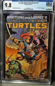 Teenage Mutant Ninja Turtles 47 CGC  9.8 NM/M   1st Space Usagi   W/P's NEW CASE