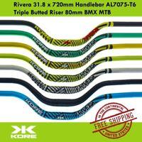 KORE Rivera BMX MTB Handlebar 31.8 x 720mm AL7075-T6 Triple Butted Riser 65mm