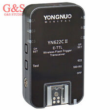 Yongnuo 1PCS YN-622C II E-TTL wireless flash trigger Transceiver for Canon/560TX